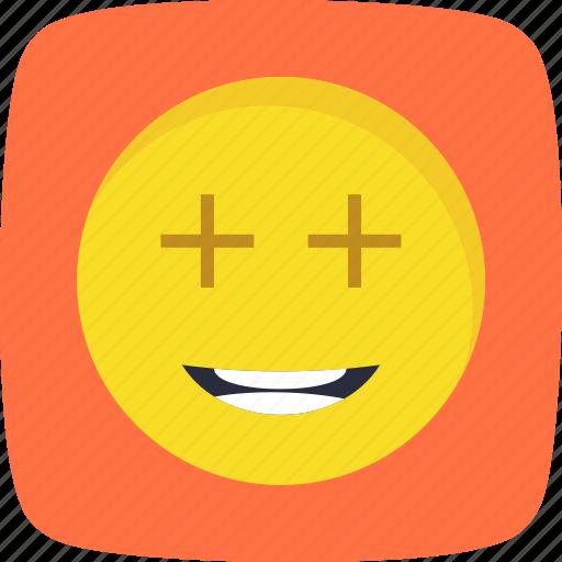 emoticon, face, positive, smiley icon
