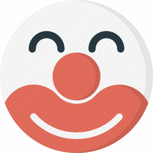 avatar, clown, emoticons, face, happy, smiley icon