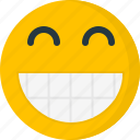 big grin, emoticons, emotion, face, happy, smile, smiley icon
