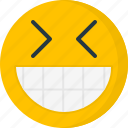 big grin, emoticons, face, humor, smile, smiley icon