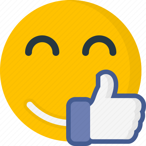 emoticons, face, happy, like, smile, smiley icon