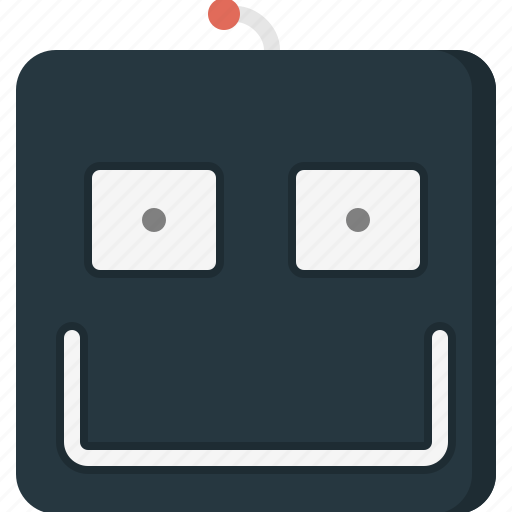 avatar, emoticon, emoticons, face, happy, robot icon