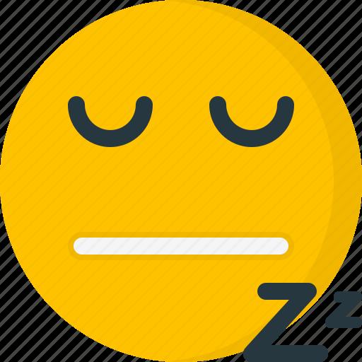 dreaming, emoticon, emoticons, face, sleep, sleepi icon