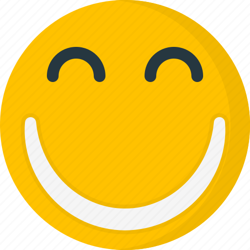 Emoticons, face, happy, smile, smiley, expression icon - Download on Iconfinder