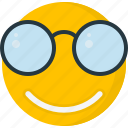 emoticons, face, happy, smile, smiley, sunglass