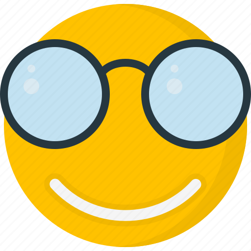 emoticons, face, happy, smile, smiley, sunglass icon