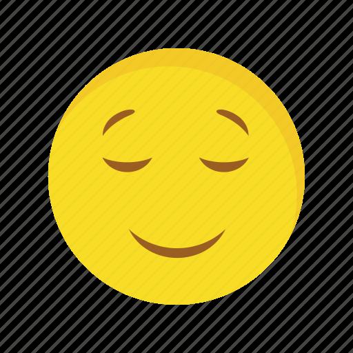 calm, emoticon, face icon