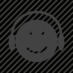 mp3, music, player, record, smartphone, vinyl icon