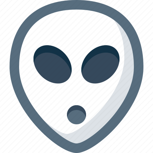 Alien, emoticon, face, smile, smiley, ufo icon - Download on Iconfinder