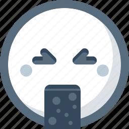 emoticon, face, puking, smile, smiley icon