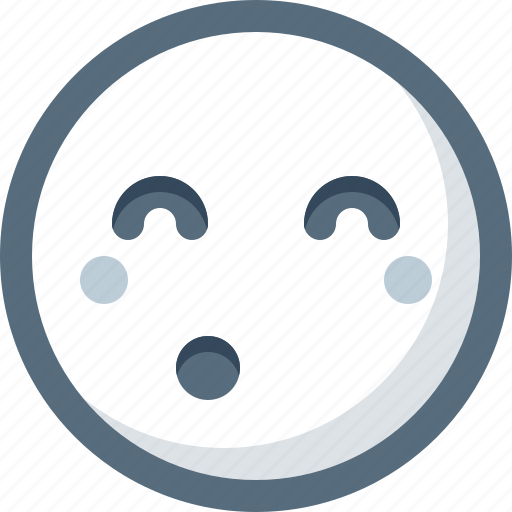 Emoticon, face, shy, smile, smiley icon - Download on Iconfinder
