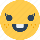 confused, perplexed, puzzled, smiley, speechless emoticon icon