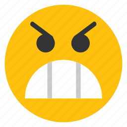 angry, angry smiley, emoticons, furious, smiley icon