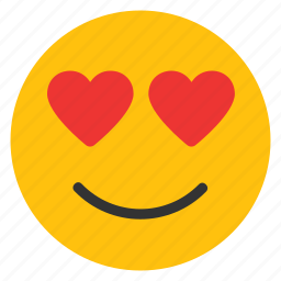 adoring, emoticons, heart, in love, love, loving, romance, smiley icon
