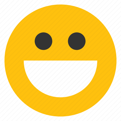 emoticons, grin, happy, happy grin, smile, smiley, teeth icon