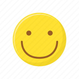 character, emoticon, expression, face, happy, smile, smiley icon