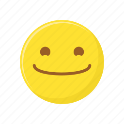 character, emoticon, expression, face, happy, smile icon