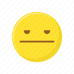 bored, character, emoticon, expression, face icon