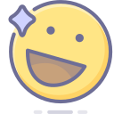 emoji, emoticon, happy, smiley icon