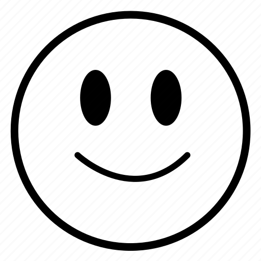 emoticon, emotions, happy, smile, smiling icon