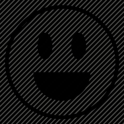 cloying, emotions, happy, smile, veryhappy icon