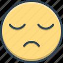 lethargic, lingering, slack, sleepy, sluggish, tired icon