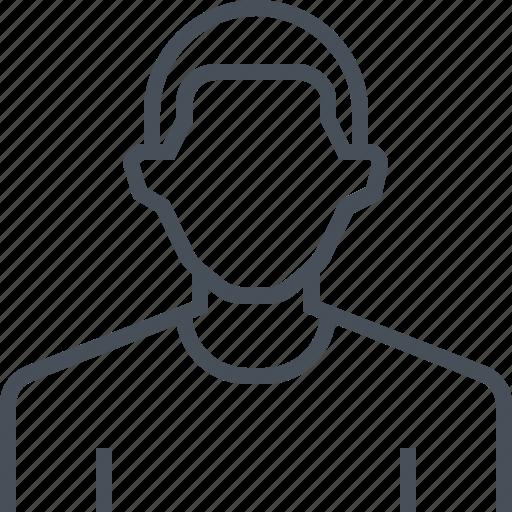 avatar, male, man, picture, portrait, profile icon