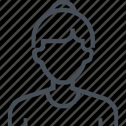 avatar, female, girl, picture, portrait, profile, woman icon