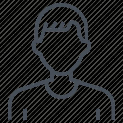 avatar, female, picture, portrait, profile, short hair icon