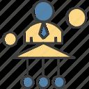 avatar, link, man, user