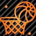 basketball, game, sports, hoop, ball