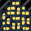 boiler, fire, firepallets, granules, heating, pallets, wood icon