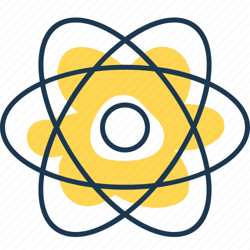 atom, electricity, energy, molecular, nuclear, power, science icon