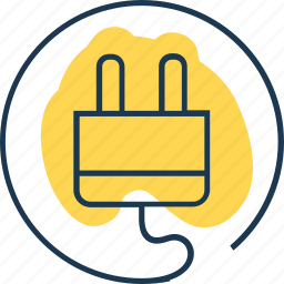 charge, connect, electricity, link, plug, power, socket icon