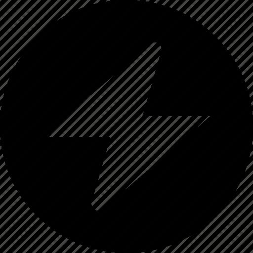 circle, energy icon