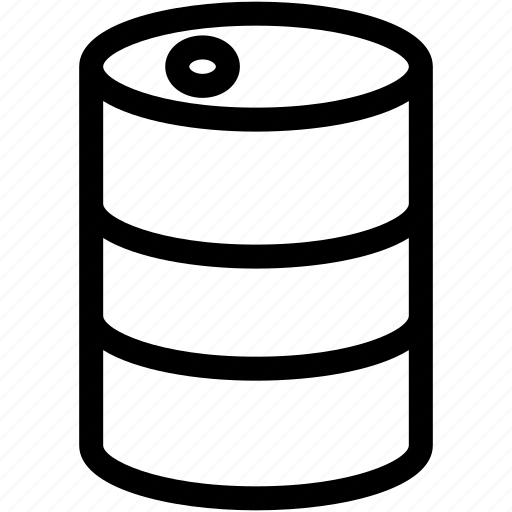 barrel, container, fuel, gasoline, oil icon
