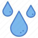 drop, nature, rain, water icon