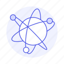 atom, electrons, energy, nuclear, nucleus, orbits, power, structure icon