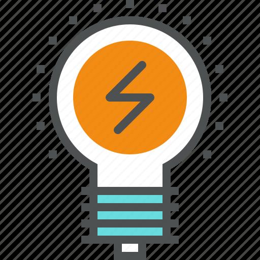 bulb, electricity, energy, lamp, light, lightbulb, power icon