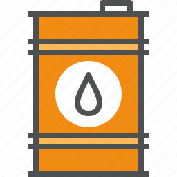 barrel, drum, energy, fuel, oil, power, tank icon