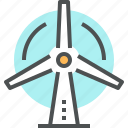 alternative, energy, generator, power, pylon, tower, wind icon
