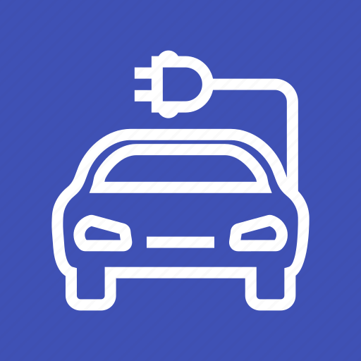automobile, car, charging, energy, power, transport, vehicle icon