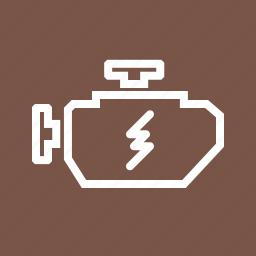 electricity, energy, engine, lightning, motor, power, valve icon