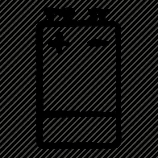 battery, block, energy, environment, plant, power, usa icon