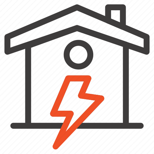 Enrgy, home, house, power icon - Download on Iconfinder