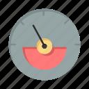 ampere, eletrical, energy, meter icon