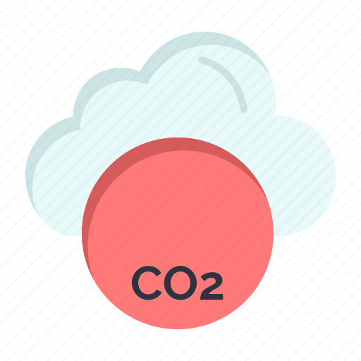 co3, industry, invironmental, pollustion icon