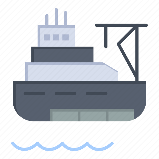 Boat, cargo, construction, ship icon - Download on Iconfinder