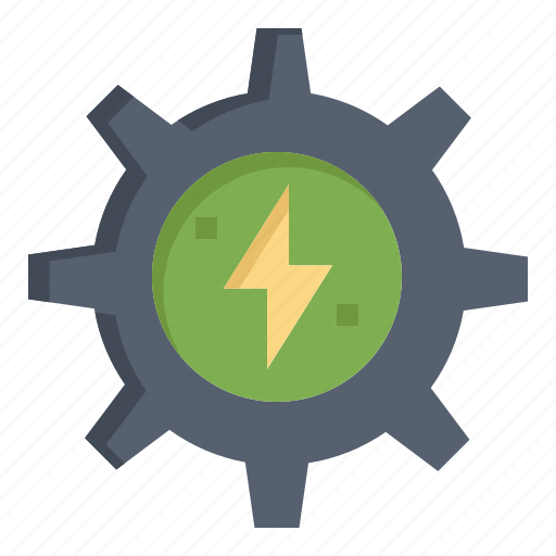 Energy, gear, power, solar icon - Download on Iconfinder