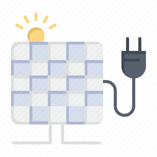 Energy, plug, solar, sun icon - Download on Iconfinder